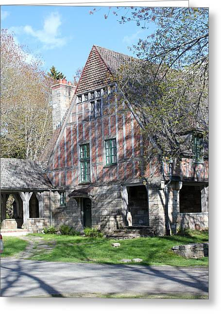 Old Maine Houses Greeting Cards - Carriage House Greeting Card by Mary Bedy