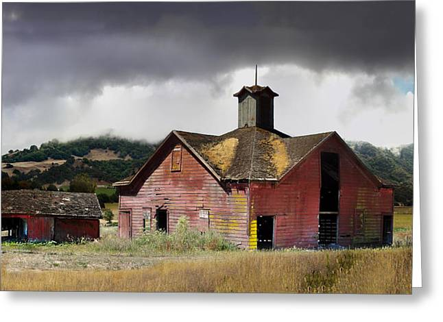 Washoe County Greeting Cards - Carriage house of Washoe Greeting Card by Stan Angel