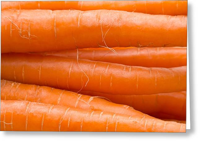 Carrot Greeting Cards - Carrots Greeting Card by Wim Lanclus