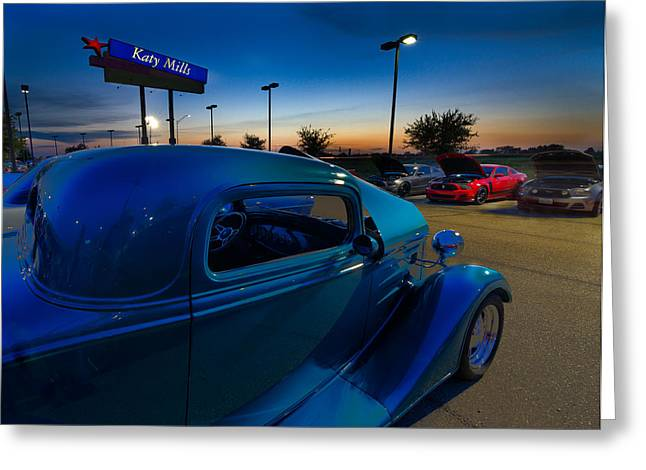 Cars Greeting Cards - Cars at Katy Mills Mall Greeting Card by Tim Stanley