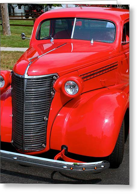 Rollingstone Greeting Cards - Cars Greeting Card by Tiffany Erdman