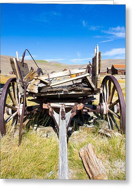 Californian Greeting Cards - Cart Greeting Card by Nicholas Blackwell