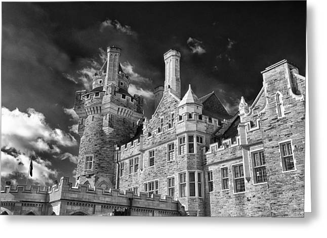 Guy Whiteley Photography Greeting Cards - Casa Loma 1258b Greeting Card by Guy Whiteley
