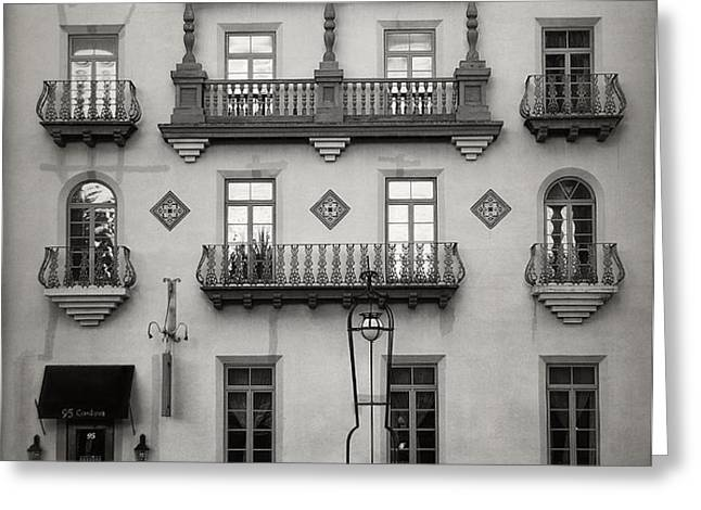 Casa Monica Greeting Card by Mario Celzner