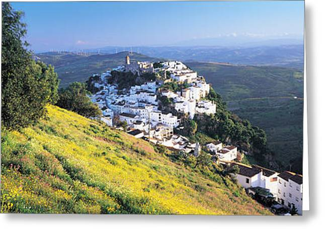 Haze Greeting Cards - Casares, Spain Greeting Card by Panoramic Images