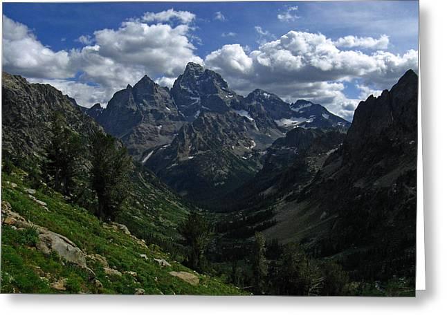 Raymond Salani Iii Greeting Cards - Cascade Canyon North Fork Greeting Card by Raymond Salani III