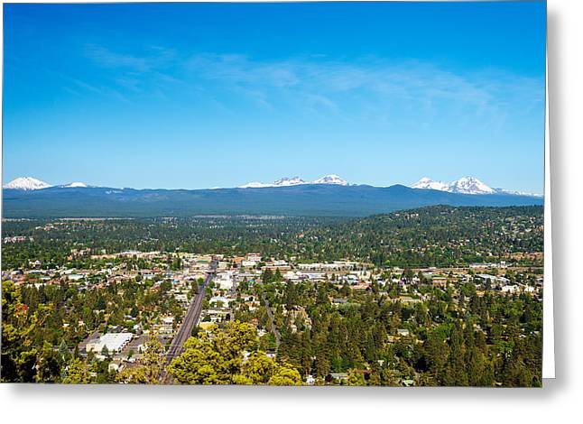 Mt Bachelor Greeting Cards - Cascade Mountains Greeting Card by Jess Kraft