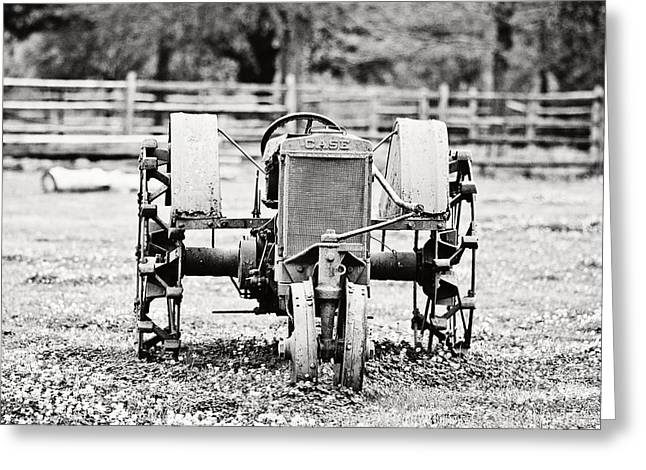 Case Tractor Greeting Card by Scott Pellegrin