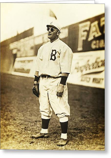 Brooklyn Dodgers Stadium Greeting Cards - Casey Stengel Greeting Card by The  Vault - Jennifer Rondinelli Reilly