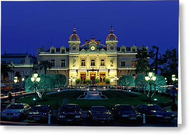 Opulence Greeting Cards - Casino Monaco Greeting Card by Panoramic Images