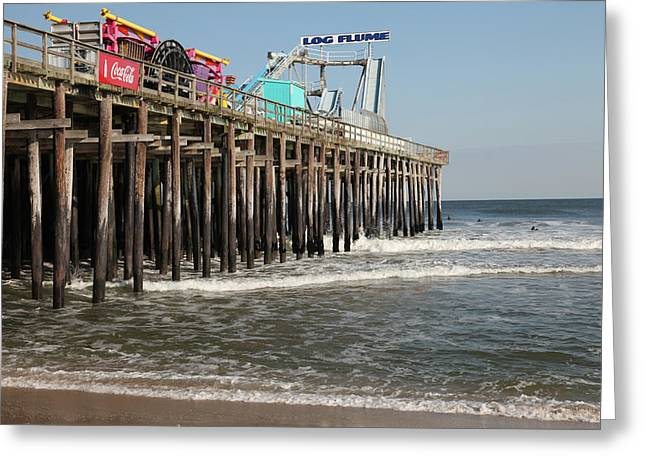 Casino Pier Greeting Cards - Casino Pier  Seaside  NJ Greeting Card by Neal Appel