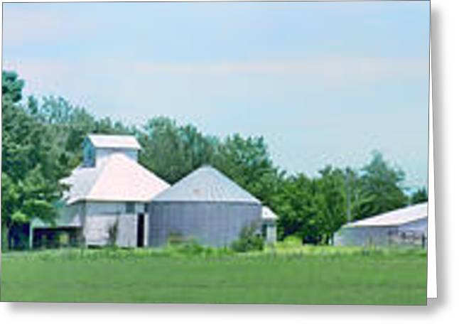 Storage Building Greeting Cards - Cass County Farm Greeting Card by Nikolyn McDonald