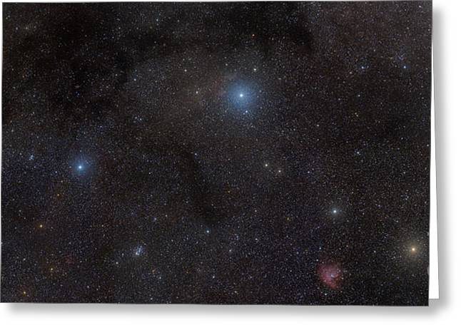 Double Cluster Greeting Cards - Cassiopeia Is A Constellation Visible Greeting Card by Rogelio Bernal Andreo