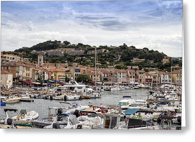 Azur Greeting Cards - Cassis - South of France Greeting Card by Nomad Art And  Design