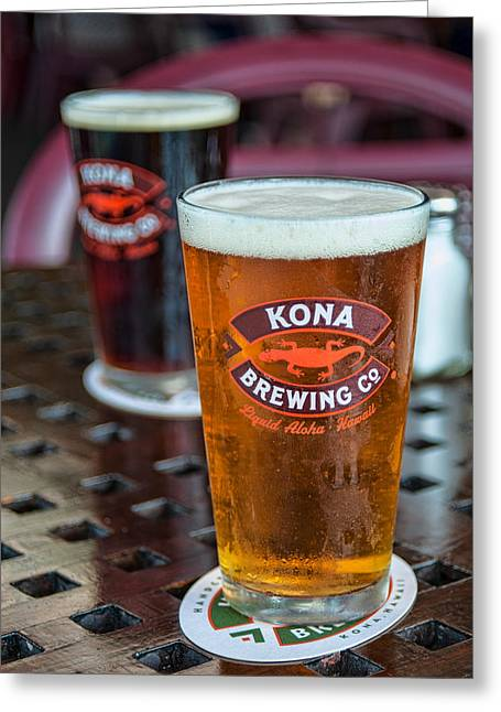 Kona Brewing Greeting Cards - Castaway IPA Greeting Card by Dan McManus