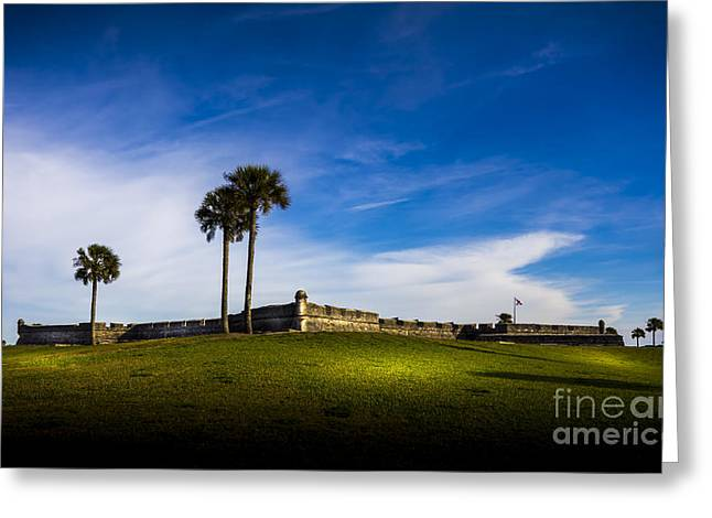 Jacksonville Greeting Cards - Castillo De San Marcos Greeting Card by Marvin Spates