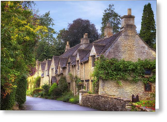 Wiltshire Greeting Cards - Castle Combe Greeting Card by Joana Kruse