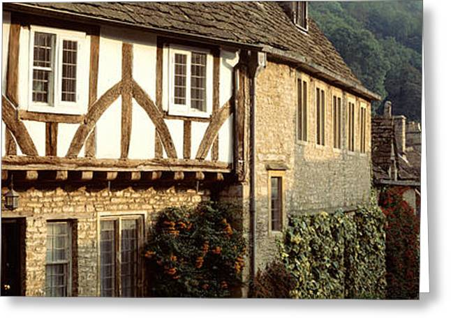 Rolling Stone Greeting Cards - Castle Combe, Wiltshire, England Greeting Card by Panoramic Images