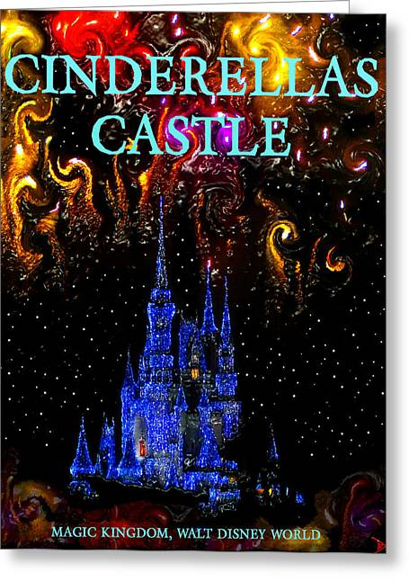 Cinderellas Castle Greeting Cards - Castle Dreams Greeting Card by David Lee Thompson