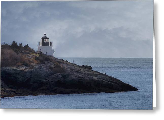 Edge Greeting Cards - Castle Hill Dream Greeting Card by Joan Carroll