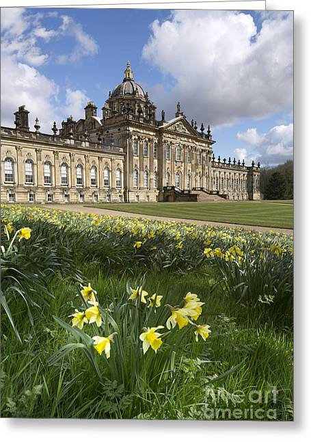 Carlisle Greeting Cards - Castle Howard Greeting Card by John Potter
