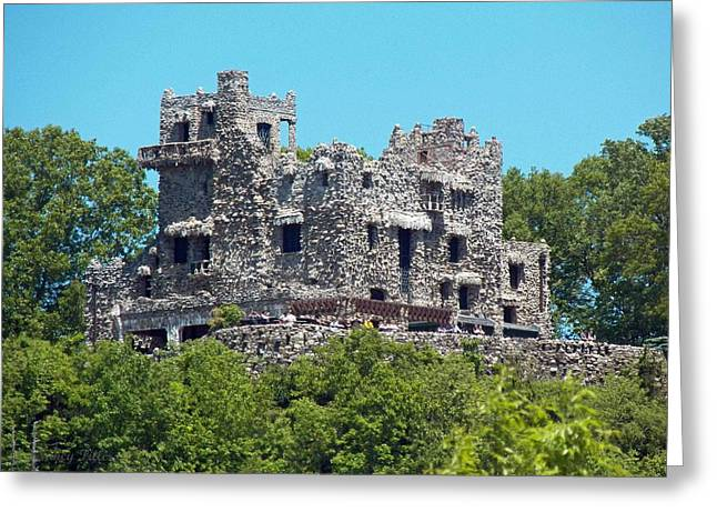 Gillette Castle Greeting Cards - Castle in the air Greeting Card by Nancy  Pillers