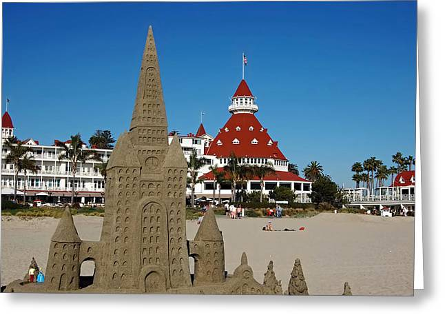 Sand Castles Greeting Cards - Castle In The Sand Greeting Card by See My  Photos