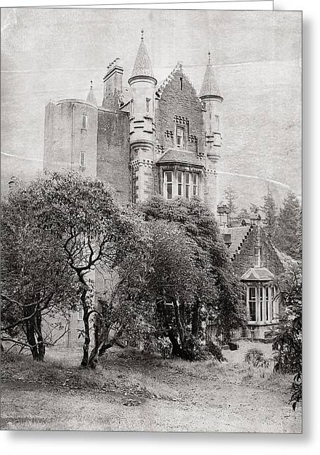Castle Greeting Card by Jenny Rainbow