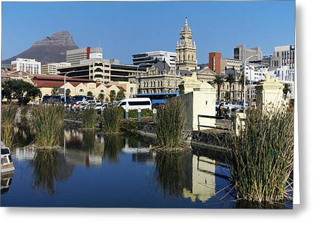 Cape Town Greeting Cards - Castle Of Good Hope With A View Greeting Card by Panoramic Images