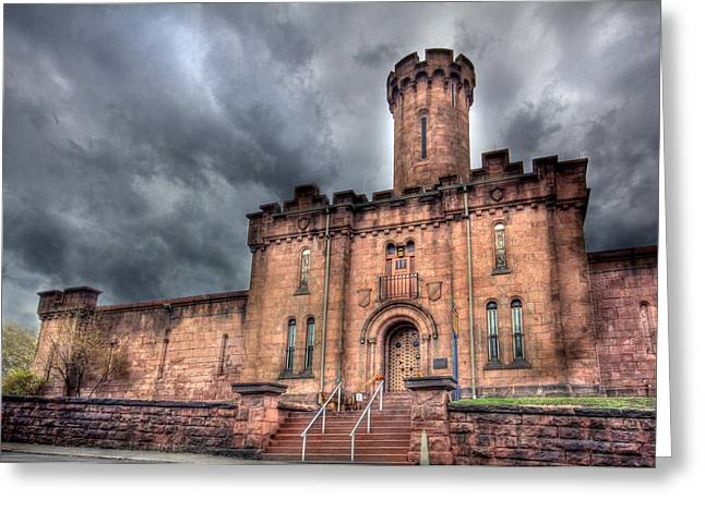 Schuylkill Digital Art Greeting Cards - Castle of Solitude Greeting Card by Lori Deiter