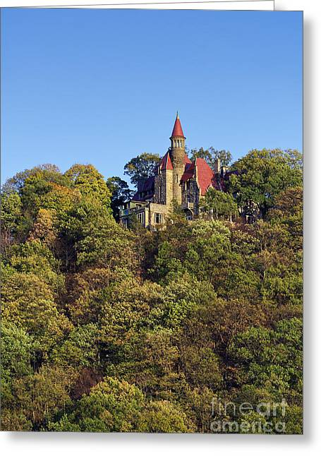 Unique View Greeting Cards - Castle Rock Estate Greeting Card by John Greim