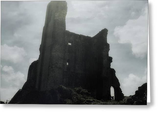 castle ruin Greeting Card by Joana Kruse