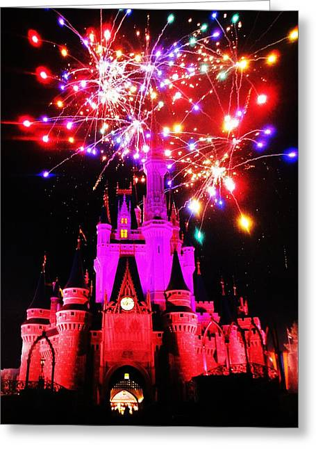 Castle Show Greeting Card by Benjamin Yeager