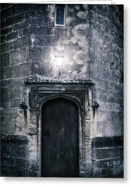 Castle Gates Greeting Cards - Castle Tower Greeting Card by Joana Kruse