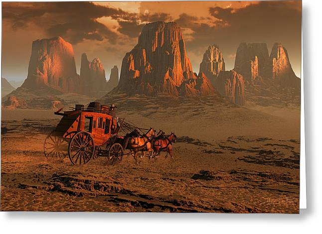 Dieter Carlton Greeting Cards - Castles in the Sand Greeting Card by Dieter Carlton