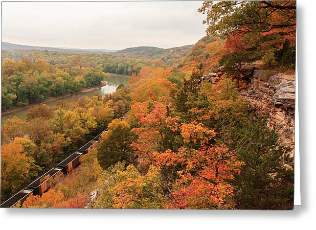 Castlewood State Park Greeting Card by Scott Rackers