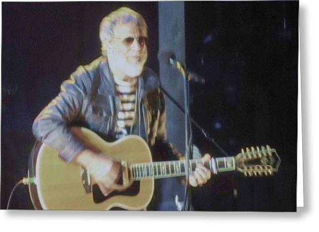 Cat Stevens Chicago Theatre 2014 Greeting Card by Todd Sherlock