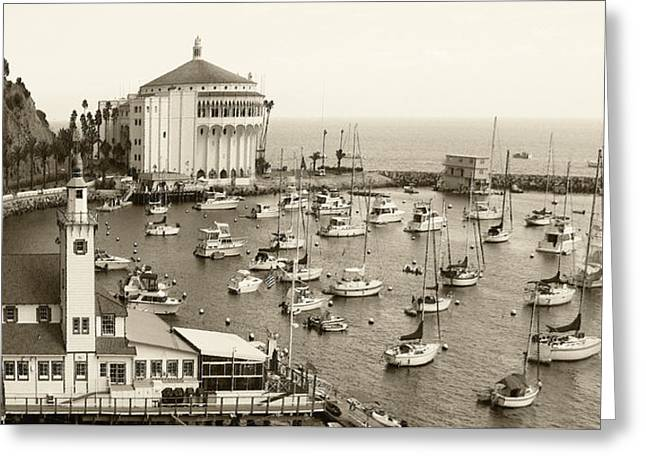 Ben Gertsberg Greeting Cards - Catalina Island. Avalon Greeting Card by Ben and Raisa Gertsberg