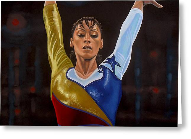 Beam Greeting Cards - Catalina Ponor Greeting Card by Paul  Meijering