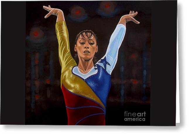 Catalina Ponor Greeting Card by Paul Meijering