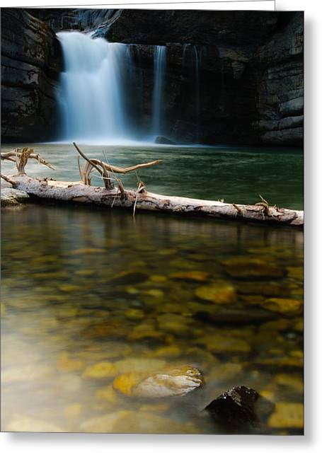 Recently Sold -  - Beautiful Creek Greeting Cards - Cataract Falls Greeting Card by Brandon Smith