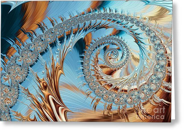 Sand Patterns Greeting Cards - Catch A Wave  Greeting Card by Heidi Smith