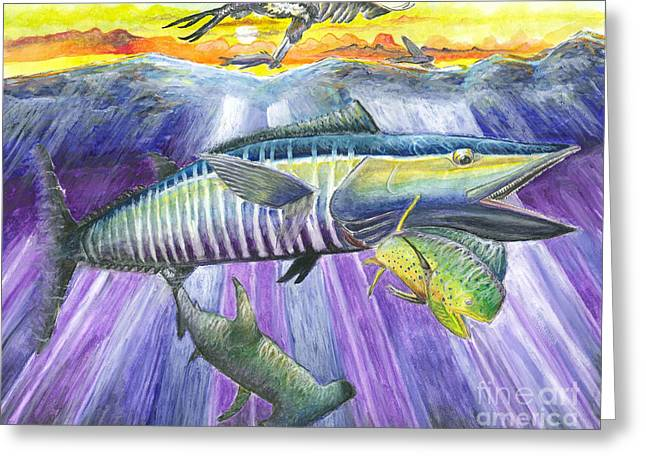 Wahoo Greeting Cards - Catch me if you can Greeting Card by Jerome Wilson