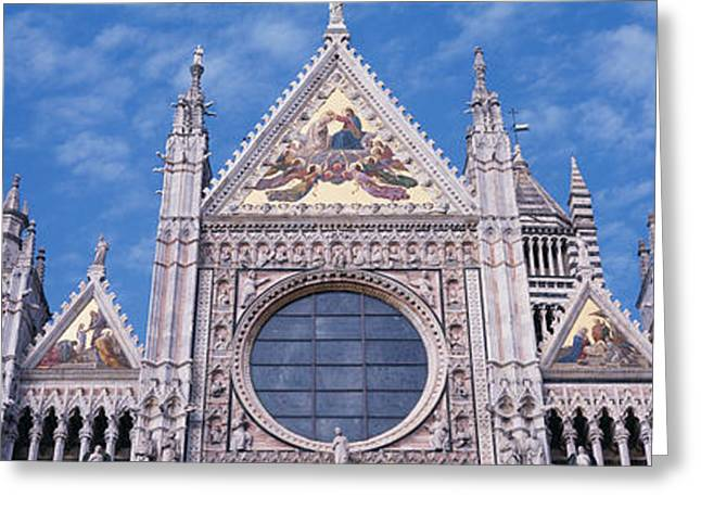 Catedrale Di Santa Maria, Sienna, Italy Greeting Card by Panoramic Images