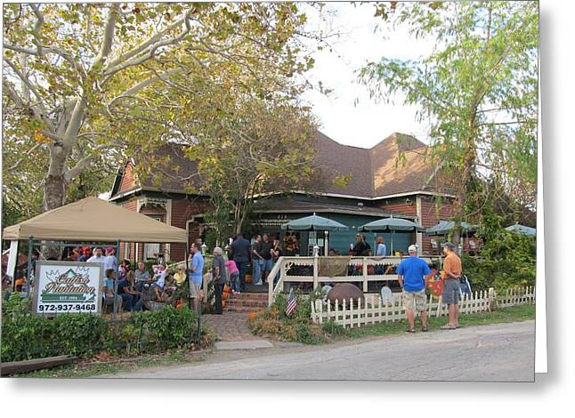 Haunted House Greeting Card Greeting Cards - The Catfish Plantation Restaurant Greeting Card by Donna Wilson