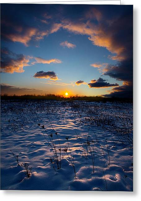 Geographic Greeting Cards - Cathederal Greeting Card by Phil Koch