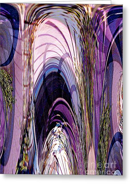 Cathedral 1 Greeting Card by Ursula Freer