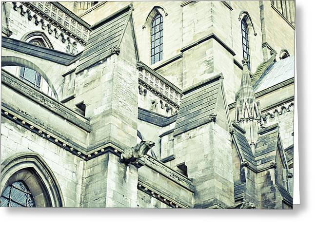Cathedral Architecture Greeting Card by Tom Gowanlock