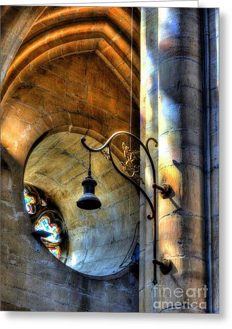 Cathedral Of Saint Maurice Greeting Card by Mel Steinhauer