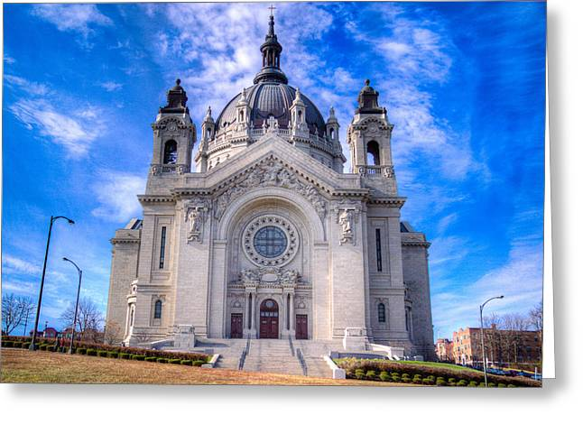 Beaux-arts Greeting Cards - Cathedral of Saint Paul Greeting Card by Adam Mateo Fierro